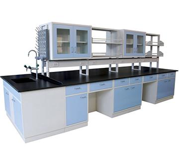 浅蓝色实验台Bench  ckf-sy09