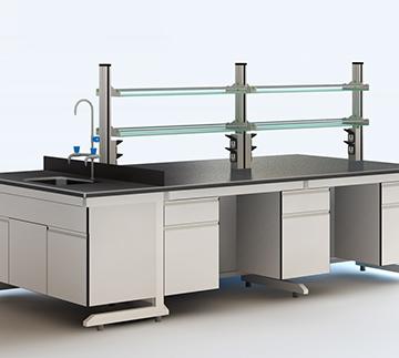 浅灰色实验台Bench  ckf-sy02