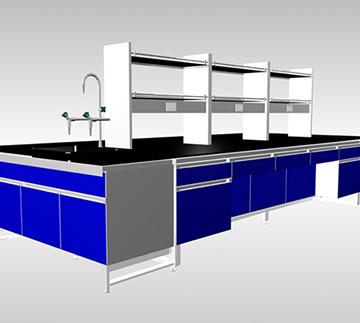 宝蓝色实验台Bench  ckf-sy01