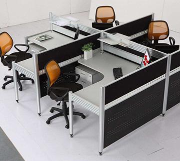 四人隔断Office space  ckf-gw08