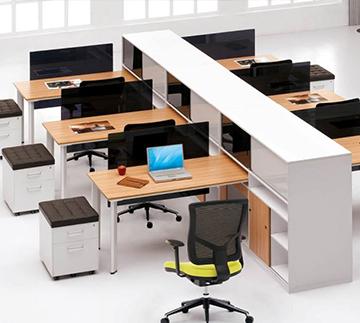 钢木结合工位Office space  ckf-gw08