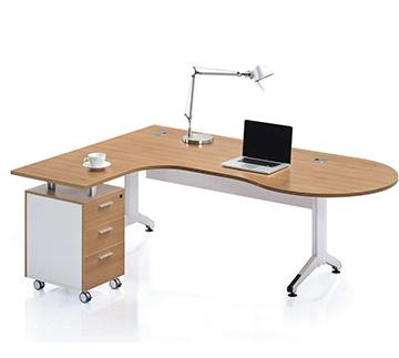 钢木结合主管桌